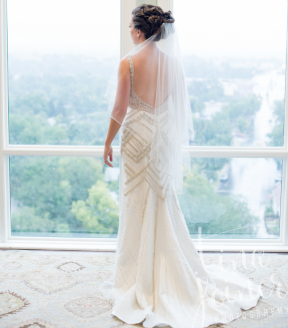 Dress: Danelle's Bridal Boutique / Photo: Tina Joiner