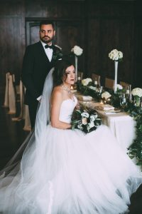 The Pinery at The Hill styled wedding shoot by Brian Kwan Photography. Wedding dress and tuxedo by Danelle's Bridal Boutique