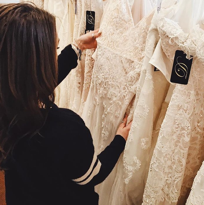 2b6285292f88 Perks of local bridal shops vs. online retailers | Danelle's Bridal