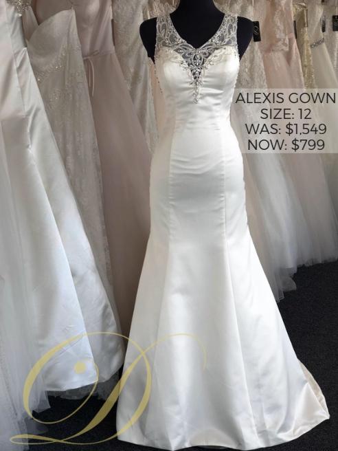 df4f7aa6921 Now  799 outlet  Alexis Wedding Dress size 12 Danelle s Bridal Outlet in  Pueblo