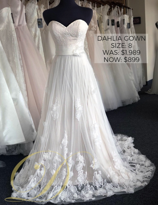Designer bridal gowns up to 70% off! | Danelle\'s Bridal Outlet, Pueblo