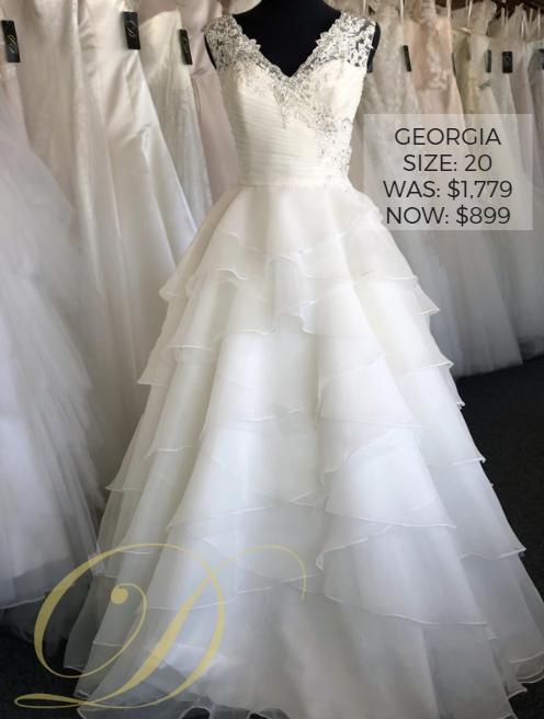 f8f727c7052 Bridal ball  Georgia Wedding Dress size 20 at Danelle s Bridal Outlet in  Pueblo