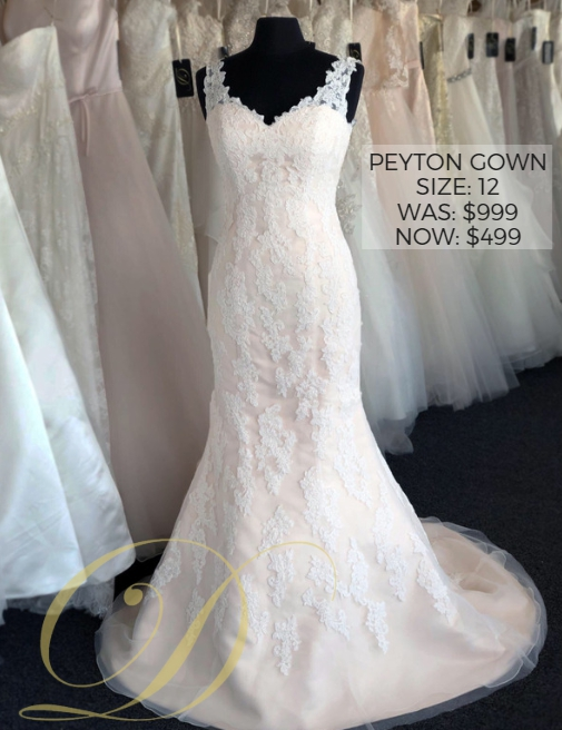 0bc4a982d43 Bridal Gowns Up To 70 Off Danelle S Outlet Pueblo. Caela Wedding Dress Size  ...