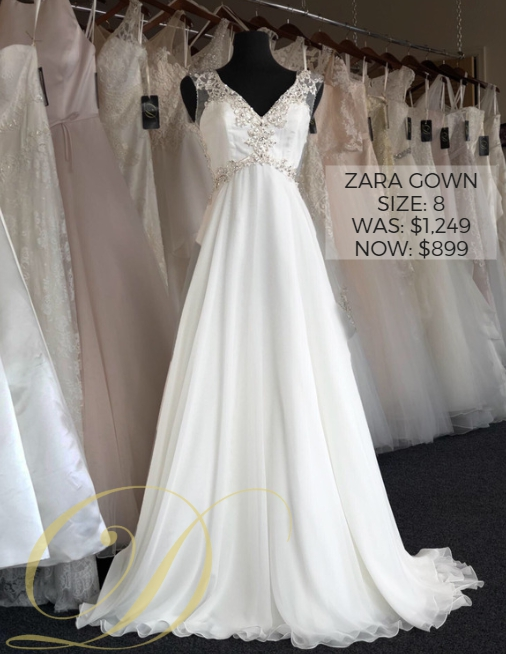 c7fd84d3aab Zara Wedding Gown at Danelle s Bridal Outlet in Pueblo